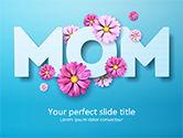 Holiday/Special Occasion: Modèle PowerPoint de salut maman #15560