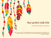 Art & Entertainment: Boho Style PowerPoint Template #15579