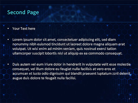 Global Information Security Concept PowerPoint Template, Slide 2, 15589, Technology and Science — PoweredTemplate.com