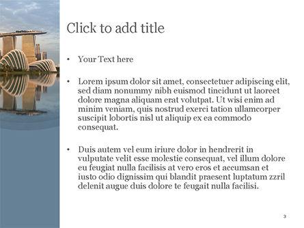 Landscape of Singapore PowerPoint Template, Slide 3, 15590, Construction — PoweredTemplate.com