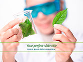 Technology and Science: Organic Chemistry Concept PowerPoint Template #15593