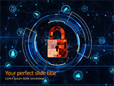 Technology and Science: Information Security and Control Concept PowerPoint Template #15606