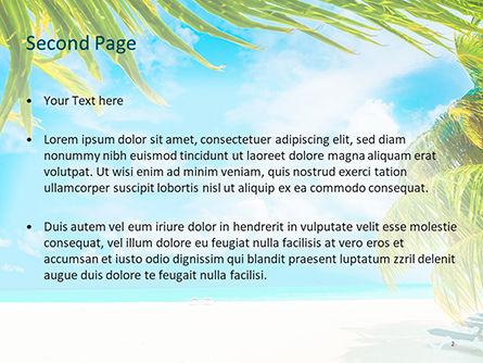 Caribbean PowerPoint Template, Slide 2, 15608, Nature & Environment — PoweredTemplate.com