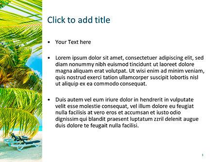Caribbean PowerPoint Template, Slide 3, 15608, Nature & Environment — PoweredTemplate.com