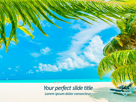 Nature & Environment: Caribbean PowerPoint Template #15608