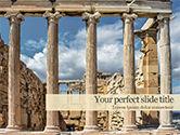 Construction: Acropolis PowerPoint Template #15614