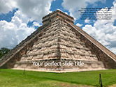 3D: Mesoamerican Pyramid PowerPoint Template #15617