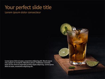 Food & Beverage: Iced Tea PowerPoint Template #15631