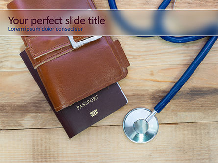 Medical: Healthcare Travel PowerPoint Template #15637