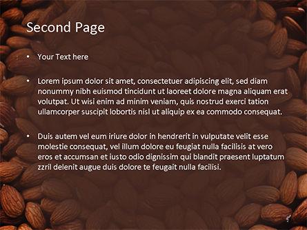 Almond PowerPoint Template, Slide 2, 15646, Food & Beverage — PoweredTemplate.com