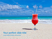 Holiday/Special Occasion: Modello PowerPoint - Vacanza al mare #15656