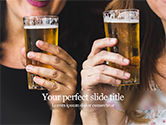 People: Beer Party PowerPoint Template #15663