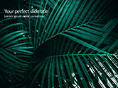 Nature & Environment: Palmenblätter PowerPoint Vorlage #15667