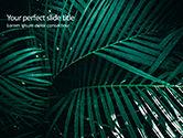 Nature & Environment: Palm Bladeren PowerPoint Template #15667