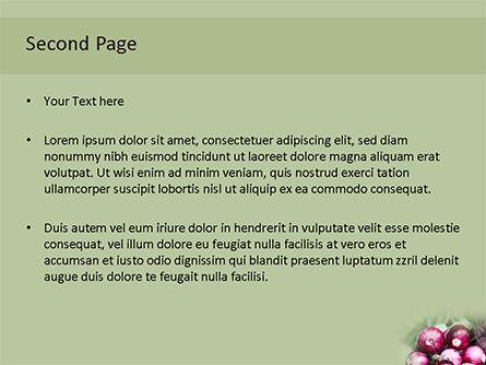 Onion PowerPoint Template, Slide 2, 15669, Food & Beverage — PoweredTemplate.com