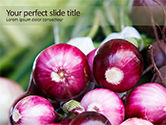 Food & Beverage: Onion PowerPoint Template #15669