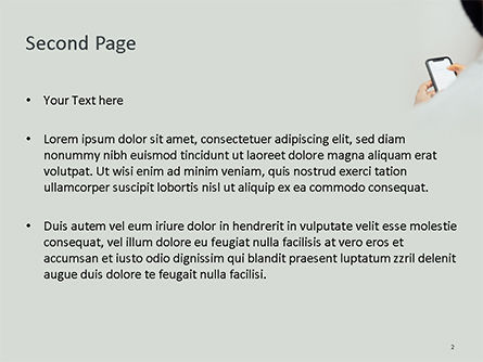 Mobile Communication PowerPoint Template, Slide 2, 15678, Technology and Science — PoweredTemplate.com