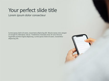 Mobile Communication PowerPoint Template, 15678, Technology and Science — PoweredTemplate.com