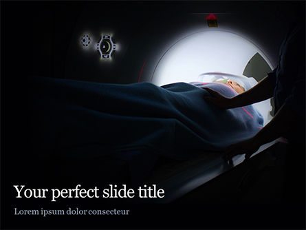 Medical: Magnetic Resonance Imaging PowerPoint Template #15693
