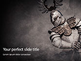 Military: Medieval Armor PowerPoint Template #15706