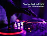 Art & Entertainment: DJ Remote PowerPoint Template #15719