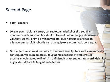 World of Books PowerPoint Template, Slide 2, 15732, Education & Training — PoweredTemplate.com