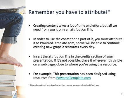 World of Books PowerPoint Template, Slide 3, 15732, Education & Training — PoweredTemplate.com