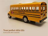 Education & Training: おもちゃスクールバス - 無料PowerPointテンプレート #15736