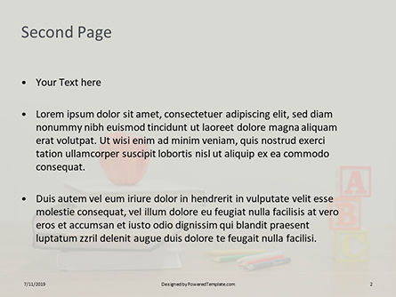 Primary School Concept Presentation, Slide 2, 15762, Education & Training — PoweredTemplate.com