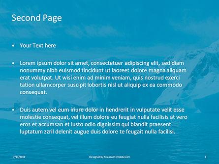 Chunk of Ice Presentation, Slide 2, 15765, Nature & Environment — PoweredTemplate.com