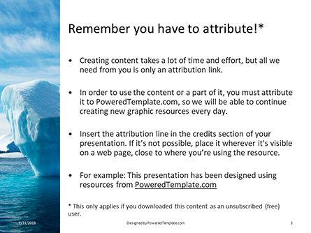 Chunk of Ice Presentation, Slide 3, 15765, Nature & Environment — PoweredTemplate.com
