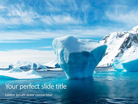 Chunk of Ice Presentation, 15765, Nature & Environment — PoweredTemplate.com