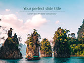Nature & Environment: View of Khao Sok National Park Presentation #15766
