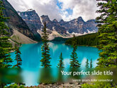 Nature & Environment: View of Moraine Lake Presentation #15767