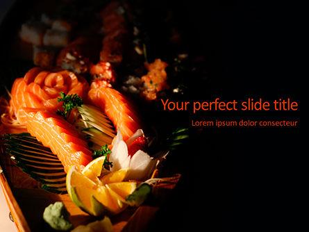 Food & Beverage: Sashimi Set Presentation #15772