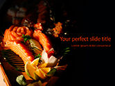 Food & Beverage: Sashimi Set Presentation #15772