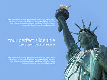 America: The Statue of Liberty in New York City Presentation #15776