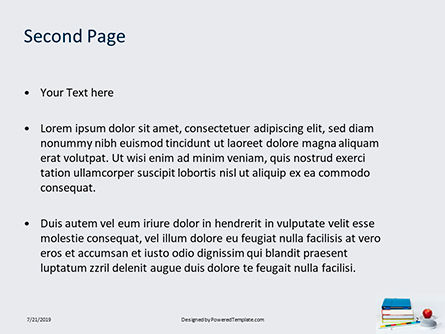 Stack of Books with Tablet PC and Apple Presentation, Slide 2, 15787, Education & Training — PoweredTemplate.com