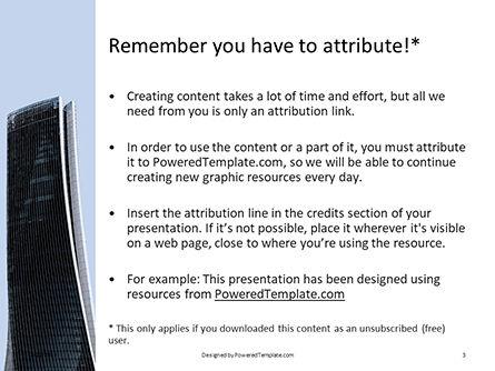 High-rise Building Presentation, Slide 3, 15804, Construction — PoweredTemplate.com