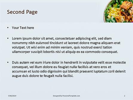 Grill Tofu and Veggies Dish Presentation, Slide 2, 15811, Food & Beverage — PoweredTemplate.com