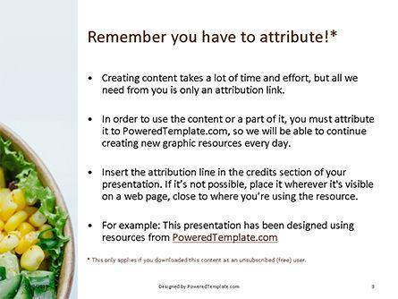 Grill Tofu and Veggies Dish Presentation, Slide 3, 15811, Food & Beverage — PoweredTemplate.com