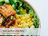 Food & Beverage: Grill Tofu and Veggies Dish Presentation #15811