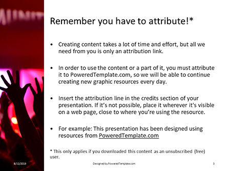 People Raises Hands Presentation, Slide 3, 15818, Art & Entertainment — PoweredTemplate.com