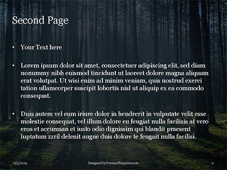 Spruce-Fir Forest Presentation, Slide 2, 15830, Nature & Environment — PoweredTemplate.com