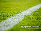 Sports: Modelo do PowerPoint - campo verde para jogos de esporte #15851