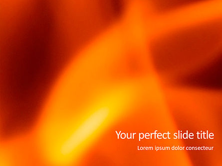 Abstract/Textures: Abstract Fire Background with Flames Presentation #15855