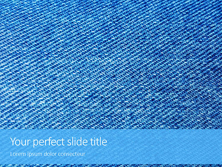 Abstract/Textures: Jeans Texture Background Presentation #15967