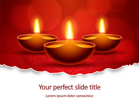 Holiday/Special Occasion: Elegant Happy Diwali Background Presentation #16086