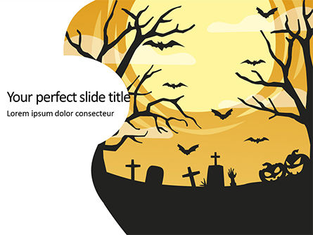 Holiday/Special Occasion: Halloween Silhouettes Presentation #16088