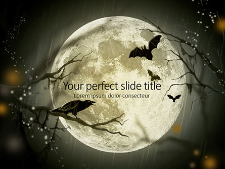 Nature & Environment: Spooky Moon Presentation #16215